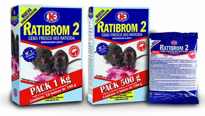 Impex Europa lanza novos formatos de 'Ratibrom'