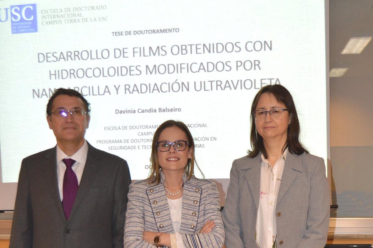 Investigadores galegos conseguen substituír o petróleo por soro de leite para fabricar film alimentario
