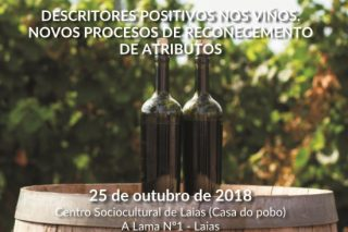 """Taller sobre """"Descriptores positivos nos viños: Novos procesos de recoñecemento de atributos"""""""