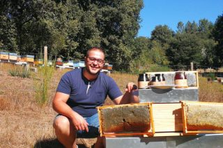Una miel ecológica de A Baixa Limia, elegida la mejor de la Península Ibérica