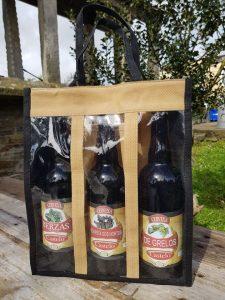 Pack especial de tres cervexas artesás de Champivil