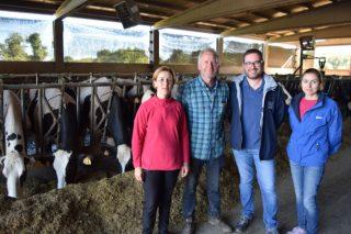 SAT Sampérez: Unha gandería creada para producir sólidos lácteos