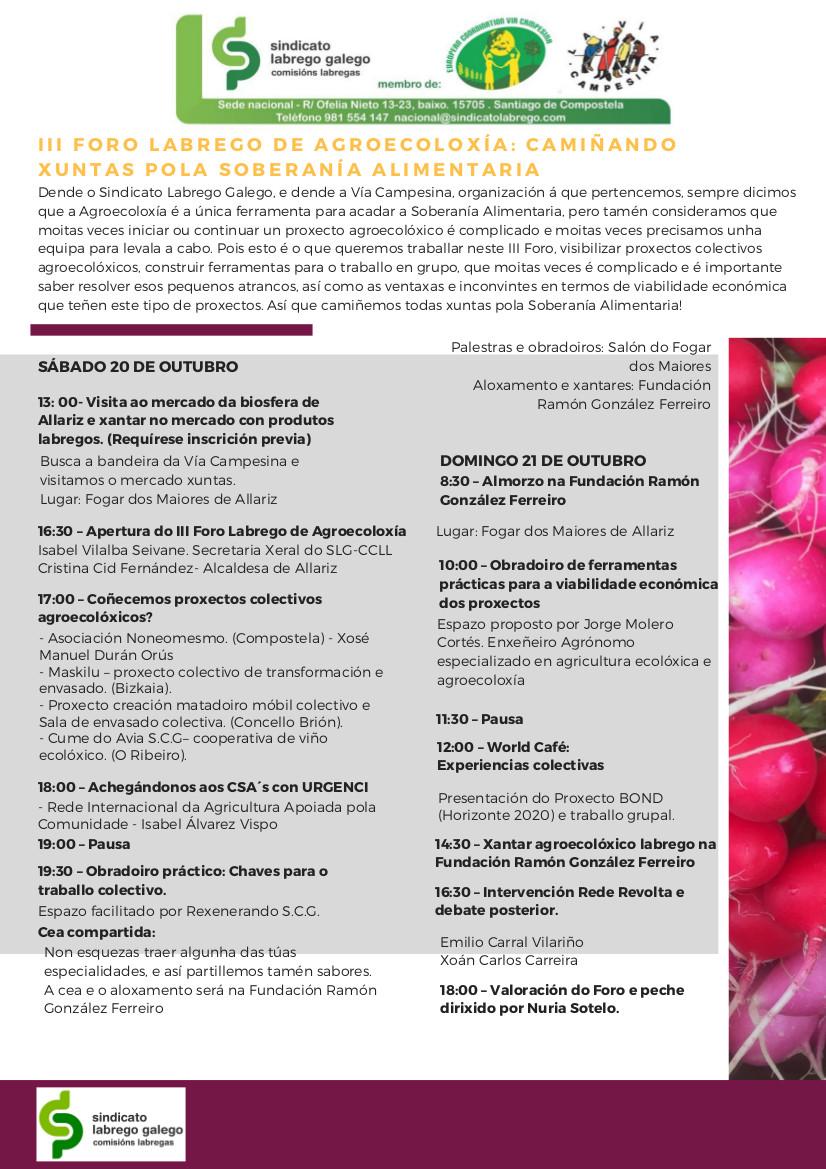 xornada slg agroecoloxia