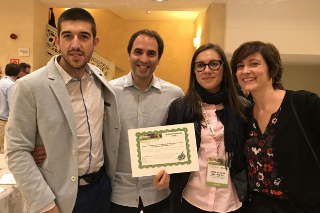 Premio a investigadores gallegos en el Congreso Nacional de Fitopatología