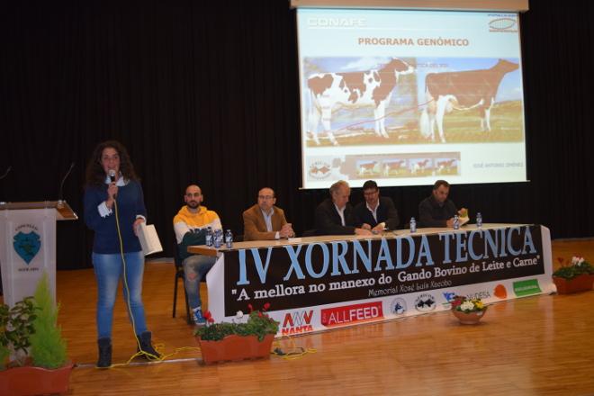 Máis de 100 gandeiros participan na Xornada Técnica de Africor Pontevedra