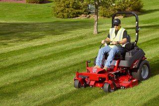 Ferris, el único tractor cortacésped con suspensión integral