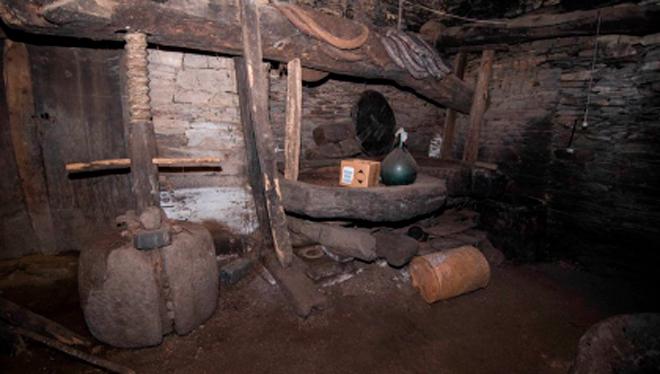 Antiguo Muíño de aceite en Quiroga.