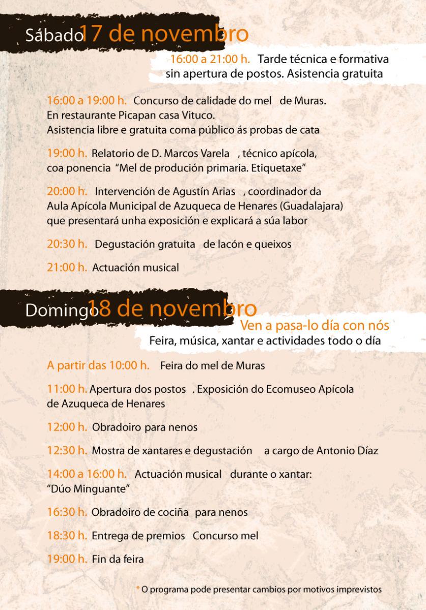flyer A5 festa do mel de montaña de Muras 181030 0523.indd