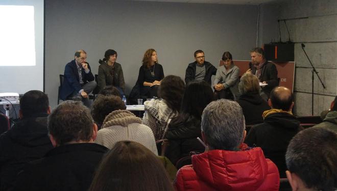 Algúns dos participantes no recente Encontro Rural Imaxinado, en Vilar do Santos.