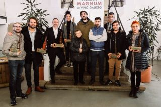 Galardoados nos Premios Mágnum do Viño Galego 2018