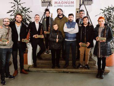 Galardonados en los Premios Mágnum do Viño Galego 2018