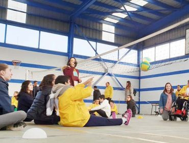 Xornada de deporte inclusivo organizada por Caixa Rural Galega
