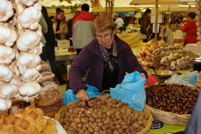 Fin de semana para disfrutar dos produtos do outono en Allariz