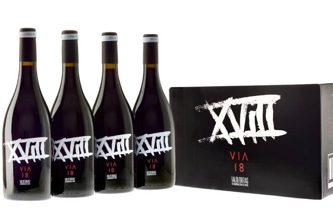 Nuevo vino de Viña Costeira: Vía XVIII Garnacha Tintureira de cepas viejasde Valdeorras