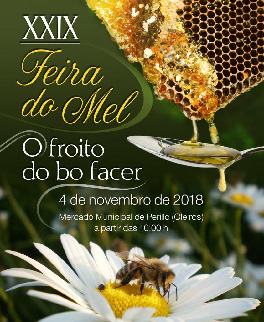 Máis de 30 apicultores venderán os seus produtos este domingo na Feira do Mel de Oleiros