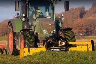 Trituradora Orsi WGR, a referencia para uso en praderías