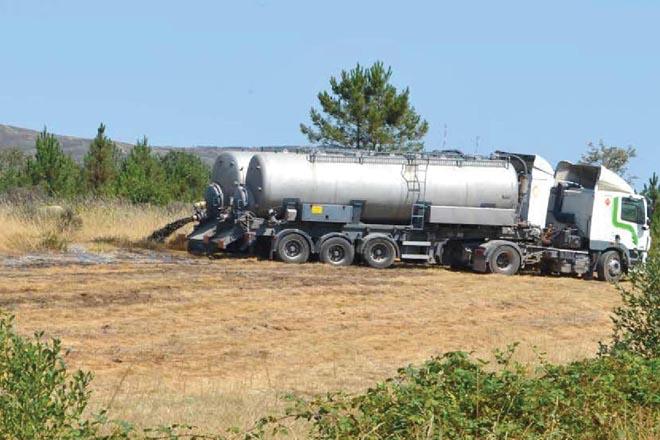 Denuncian en Bruxelas os residuos gandeiros de Coren na Limia