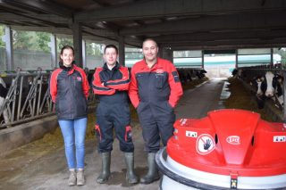 Gandaría Vilasilvestre SC: lograr altas calidades en leite con robot de muxido