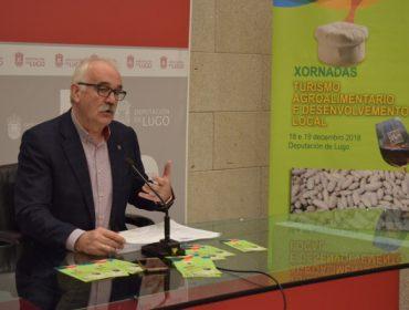 Jornada de la Diputación de Lugo sobre turismo agroalimentario y desarrollo local
