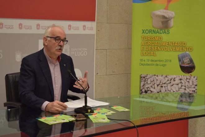 Xornada da Deputación de Lugo sobre turismo agroalimentario e desenvolvemento local