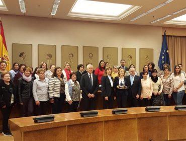 Visita de 'Mulleres de Seu' ó Congreso dos Deputados
