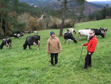"""""""Me gusta que las vacas salgan al aire libre y disfruten de los pastos"""""""