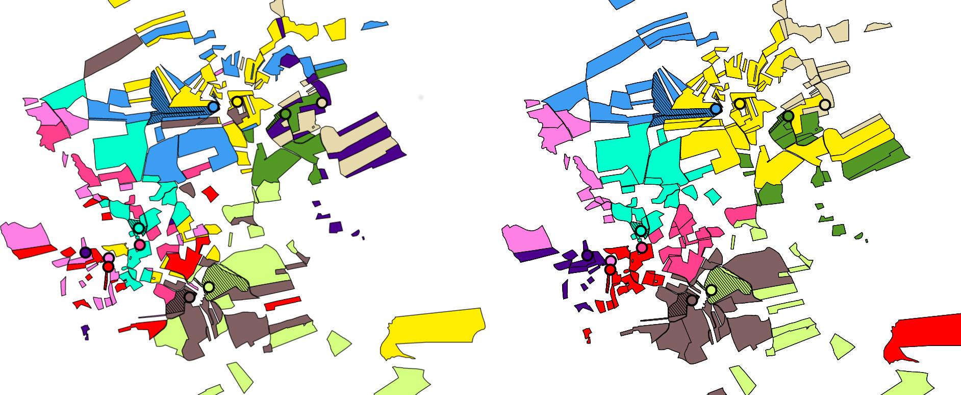 Investigadores galegos poñen en marcha unha innovadora aplicación informática para agrupar parcelas