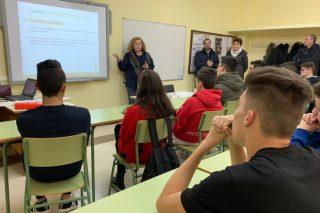 """La Diputación de Lugo """"siembra"""" el emprendimiento en el campo entre estudiantes del IES de Becerreá"""