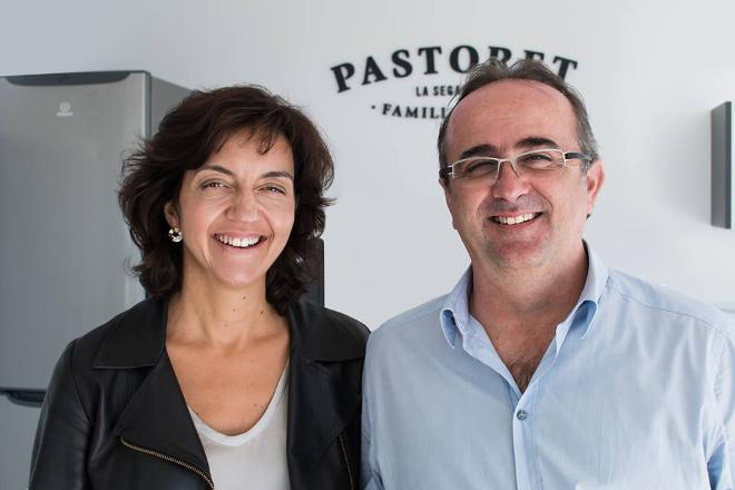 Teresa Vallés e Xavier Pont