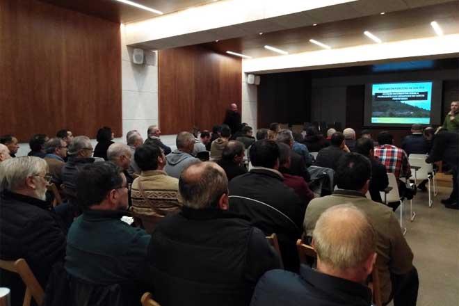 Inquedanza no sector forestal polo bloqueo das vendas de piñeiro a Portugal