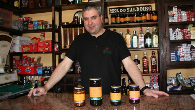 La Taberna del Tais es uno de los puntos donde se vende la Mel do Saldoiro.