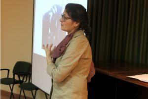 Isabel Blanco Penedo durante a súa intervención nas xornadas técnicas celebradas en Lugo