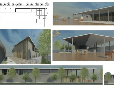 Así será a Granxa Experimental de Leite do Campus Terra de Lugo