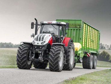 Farming Agrícola  reintroduce  Steyr, marca  austriaca de tractores, en España