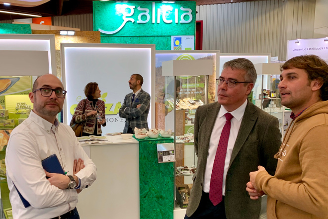 A produción ecolóxica en Galicia facturou un 35% máis en 2018