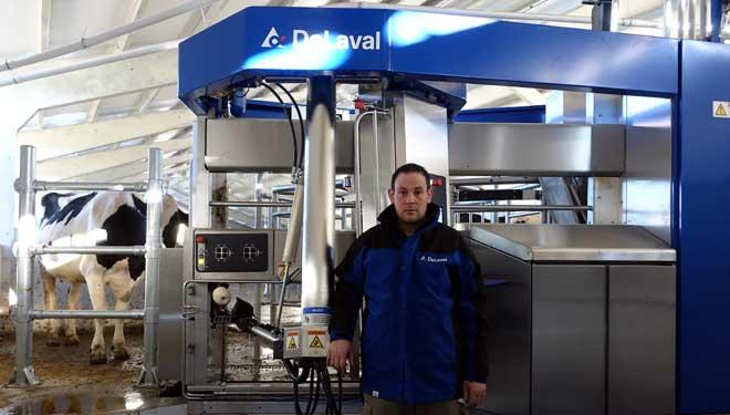 Gandería Ramil de Friolfe SC instala os dous primeiros robots Delaval VMS 300 da Península
