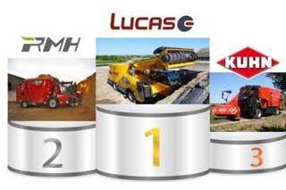 Lucas es la marca de carros autopropulsados número 1 en Francia.