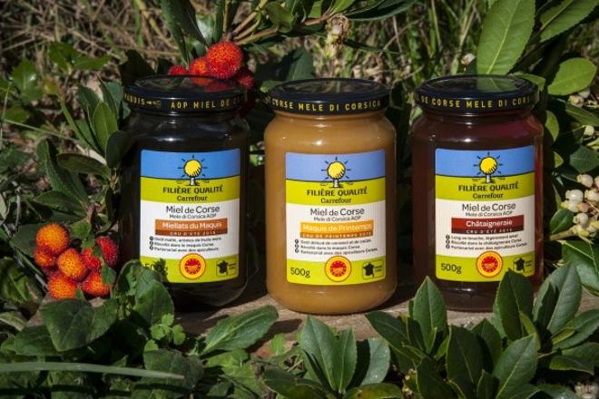 ¿Como los apicultores de Córcega consiguen vender su miel a 25 euros el kilo?