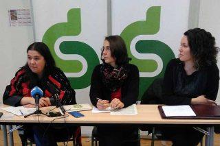 Rueda de prensa del SLG hoy en Santiago.