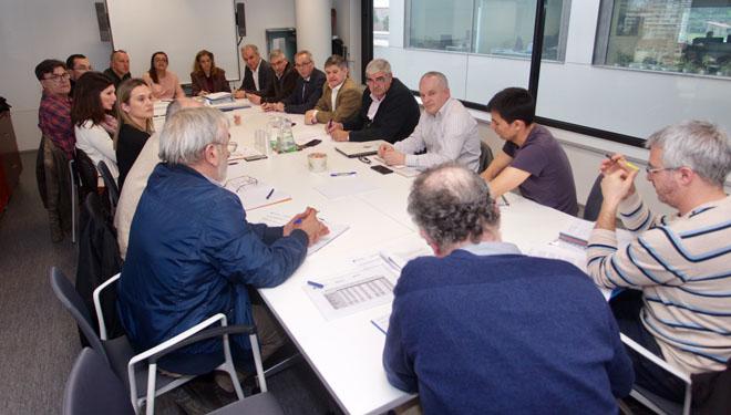 Grupo provincial de seguimiento del nematodo, constituído por la Xunta y entidades del sector.