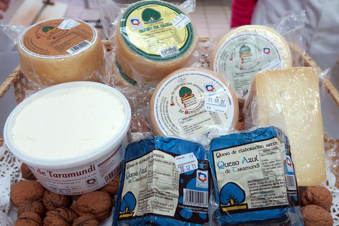 Os seis tipos de queixo que produce Eo Leche Taramundi