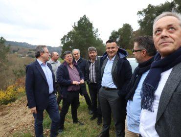 La Xunta estudia realizar 11 concentraciones parcelarias en Agolada para 6.000 hectáreas