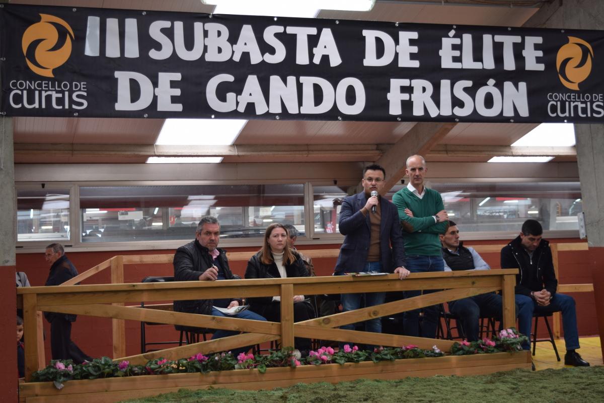 O conselleiro do Medio Rural, José González, durante a súa intervención