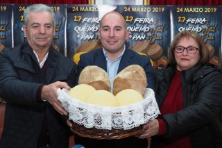 Friol se convertirá este domingo en la capital gallega del queso y del pan