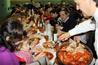 Domingo para degustar a androlla e desfrutar do Entroido en Viana do Bolo