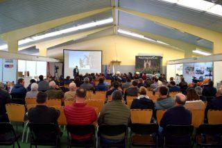 A xornada sobre cultivo de millo reúne a máis de 200 persoas en Curtis