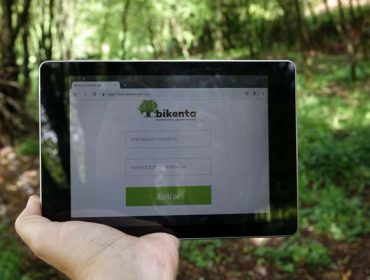'Bikenta', la gestión del monte en el móvil
