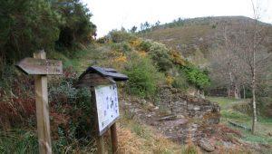 A comunidade de montes tamén se encarga da limpeza da ruta de sendeirismo que habilitaron.