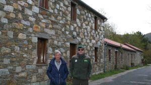 La rehabilitación de las antiguas casas mineras fue uno de los principales proyectos que impulsaron desde la comunidad de montes.