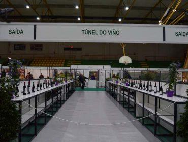 Túnel do viño da DO Monterrei na feira Agro + Verín